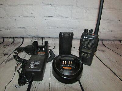 Motorola Vhf Ht1250 128ch Fire Police Ems Portable Radio Wn W Accys