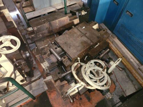 Lot of 5 Large Manual Gilman Industrial Slides & Handles