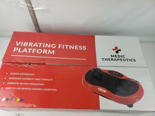 Medic Therapeutics Vibrating Fitness Platform - Red - New