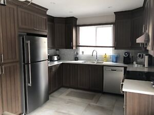 Fully Renovated 7 1/2 apartment for rent Ahuntsic/Cartierville