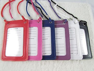 Necklace LANYARDs ID Badge Holder Card Case Badge Neck Strap Lanyard  (Lanyard Necklace)