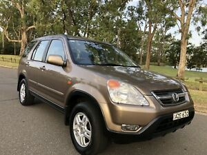 2002 Honda CR-V Sports 4x4 Manual Leather Seats 2way Sunroof Moorebank Liverpool Area Preview