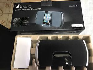 Speaker system for iPhone 3&4 and iPads Stirling Stirling Area Preview