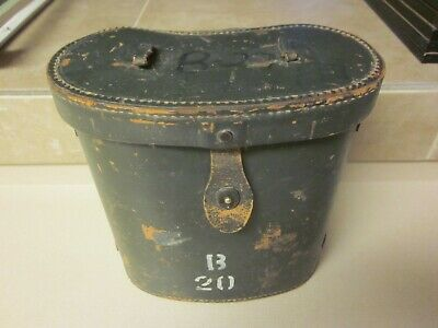Rare 1944 Ww2 Era Swiss Military Army Leather Binocular Case Binocular Cases & Accessories Cameras & Photo Lens Filters Lid