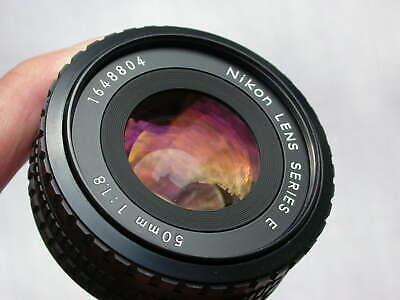 NIKON AiS Series E 50mm 1:1.8 pancake lens - full-frame 24x36 - excellent