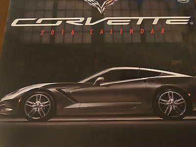 Corvette 2016 Calendar New In Package