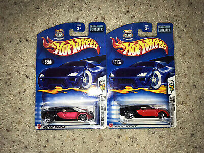 Hot Wheels Bugatti Veyron Color Variation Lot Of 2