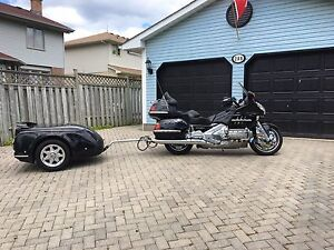2001 Goldwing/Trailer package