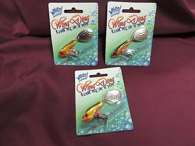 6 New Worden/'s Rooster Tail 1//4 oz Trophy Pak Spinner Bait Lot Trout Bass