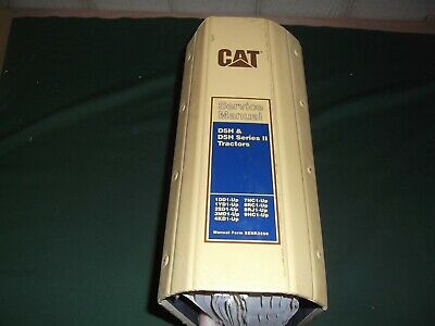 Cat Caterpillar D5h Series I Ii Tractor Dozer Service Shop Repair Book Manual