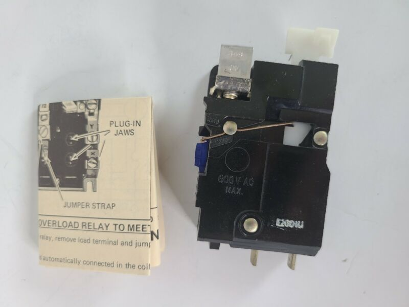 GOULD OVERLOAD RELAY KIT E20D1L1