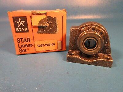 Star 1065-208-00 Linear Set Bearing Bushing 4 Bolt Flange Nbnippon Thkiko