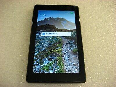 """Amazon Kindle Fire 7, 8GB, Wi-Fi, 7"""", Black, 7th Generation SR043KL"""