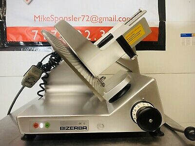 Bizerba Se12 Heavy Duty Manual Commercial Meat Deli Cheese Slicer 13 Blade