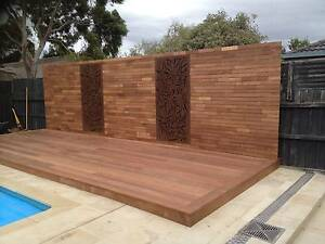 DECKINGS BUILT AT AFFORDABLE PRICES, MERBAU OR KERUING DECKING Hillside Melton Area Preview