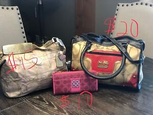 Coach purses and wallet