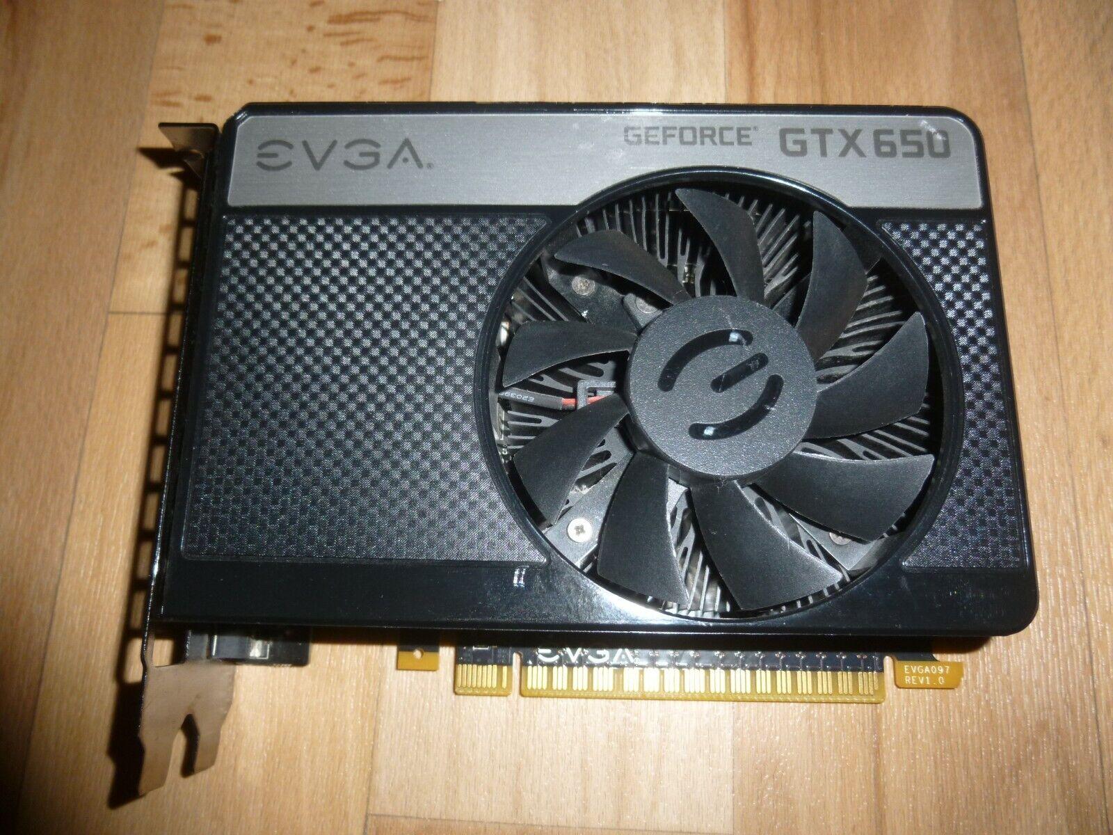 NVIDEA EVGA Geforce GTX650 2GB PCIe Grafikkarte mini HDMI top