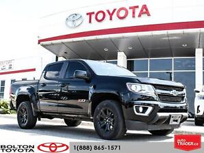 2017 Chevrolet Colorado Crew 4x4 Z71 / Short Box