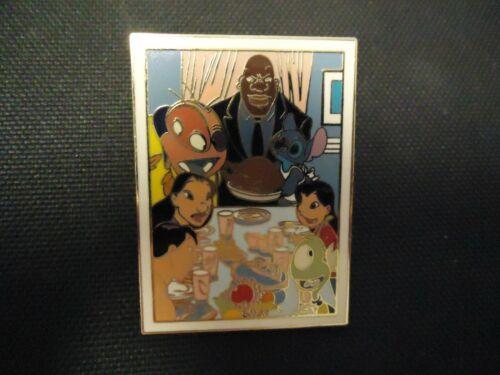 DISNEY LILO & STITCH FAMILY DINNER PHOTOGRAPH PIN