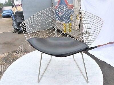 Aus einer Villenauflösung:Harry Bertoia Knoll Diamond Lounge Arm Chair (Nr.1)