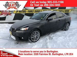 2015 Lexus IS 250 Auto, Navi, Leather, AWD, 17, 000km
