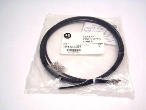 Allen Bradley 43PT-NAS58FS Plastic Fiber Optic Cable Ser A