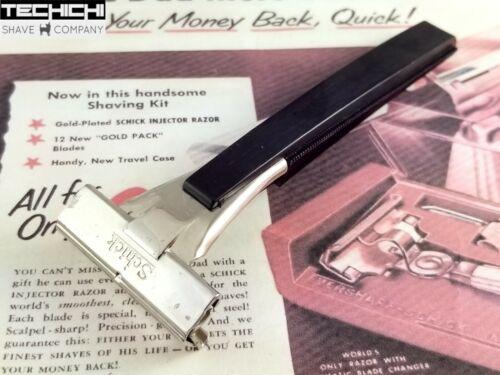 Schick Type L1 Vintage Injector Safety Razor for Shaving