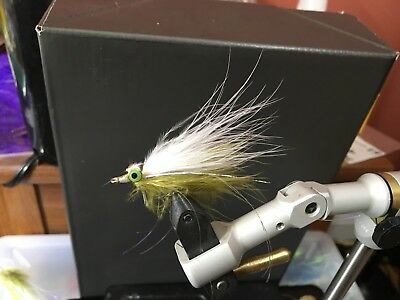 Freshwater Clouser Deep Pink/White  size  #6 Fishing Flies