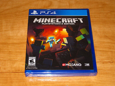 Minecraft PlayStation 4 Edition Sony PS4 Brand New Superior Shipping Ships Fast