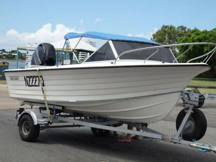 Cruise Craft Rogue 4.3m runabout