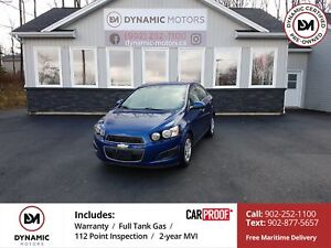 2014 Chevrolet Sonic LT Auto HEATED SEATS! BLUETOOTH! OWN FOR...