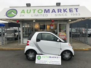 2014 Smart fortwo PURE BLUETOOTH! LOW KM'S! YOU WORK/YOU DRIVE!
