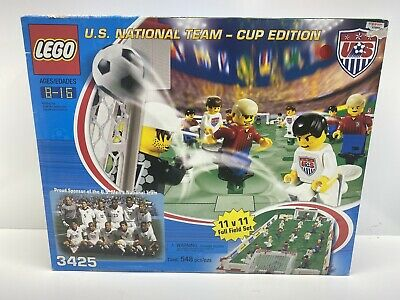 Rare Lego US Soccer National Team 2002 Cup Edition Set 3425 in Original Box NEW