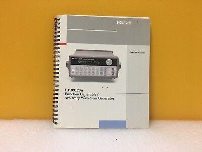 Hp Agilent 33120-90012 33120a Function Generator Waveform Service Guide