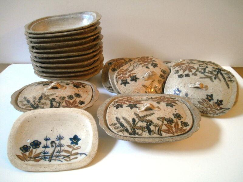 Midcentury Vintage Japanese DONABE Cookware Bakeware Dishes set