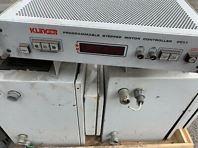 Klinger Scientific Programmable Stepper Motor Controller Cc1.1 Cc-1