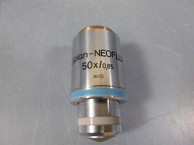 Zeiss Epiplan Neofluar 50x0.85 44 23 50 Microscope Objective 442350