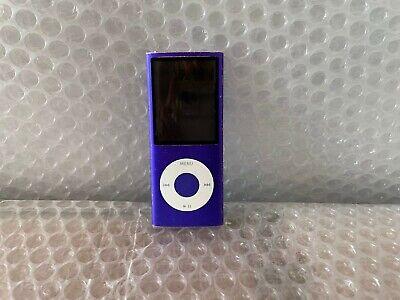 Apple ipod nano 4th generazione gen 8gb Viola Funzionante