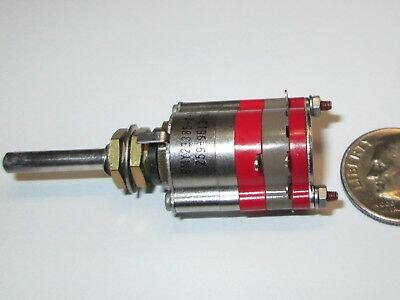 Grayhill Mil-spec Switch Series 08m 2 Pole - 3 Positions Non Short 0.5 Od Nos