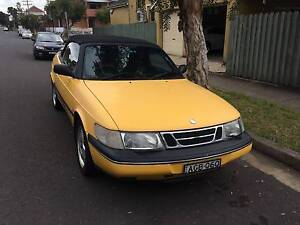 1998 Saab 900 Convertible Lidcombe Auburn Area Preview