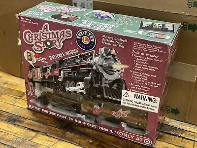 New Sealed Lionel A Christmas Story 4 Piece G Gauge Train Set 7-11177