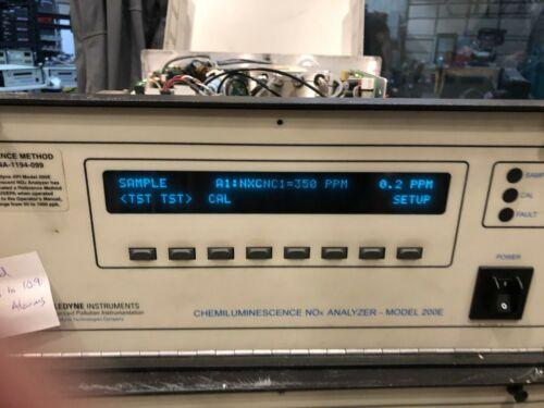 API Teledyne 200E Chemiluminescence NOX Analyzer