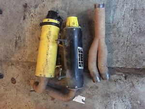 HMF exhaust for sale