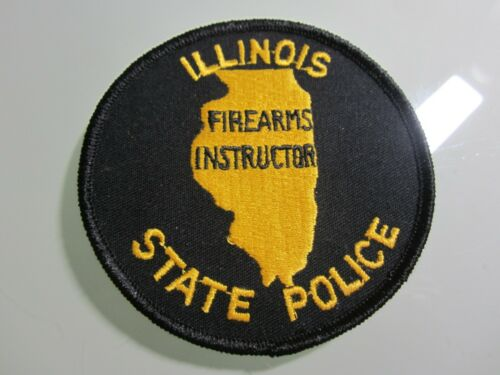ILLINOIS STATE POLICE FIREARMS INSTRUCTOR PATCH