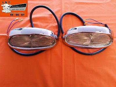 1955 Chevy Park light Turn Housing  Lens Housing Lenses Housings Lamps Pair 55 Chevy Park Light
