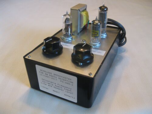 AM BROADCAST TRANSMITTER HEAR YOUR MUSIC ON ANTIQUE AIRLINE PHILCO RCA ZENITH