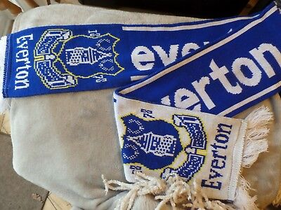 Genuine Official Everton Football Club Scarf Old Style Collectable for sale  Liverpool