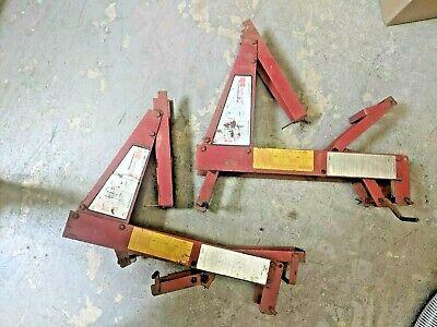 Nice Qualcraft 2200 Pump Jacks Pair Steel Scaffolding Lift