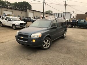 2006 Chevy uplander,  with DVD command start & winter tires