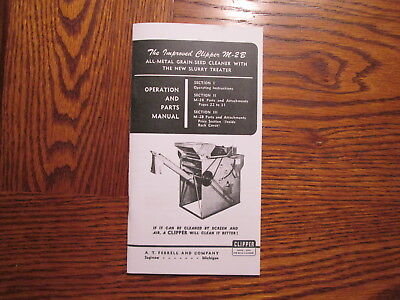 Clipper M-2B Seed Cleaner Manual